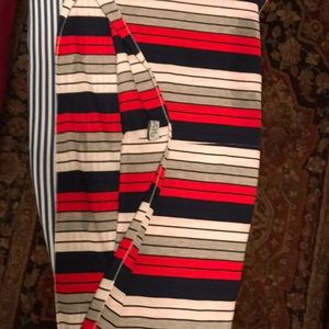 Red white and blue Infinity scarf